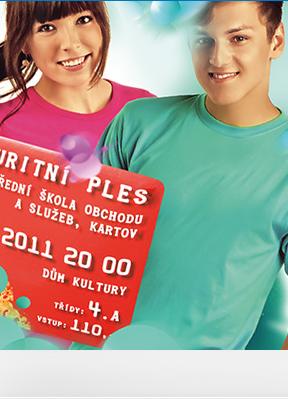 Obrázek Maturitní plakáty na ples