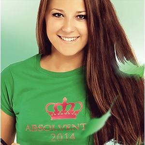 Obrázek Absolventská trička KLASIK