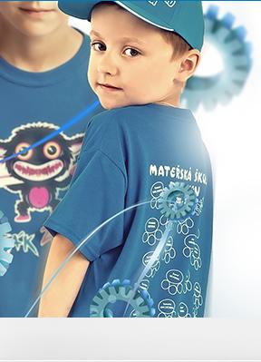 Obrázek pro kategorii Školní trička