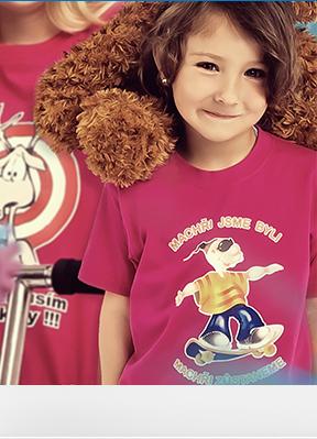 Obrázek Trička KLASIK pro předškoláky
