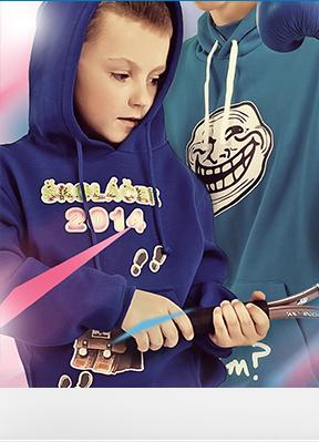 Obrázek Mikiny pro předškoláky