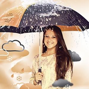 Obrázek Deštníky pro absolventy