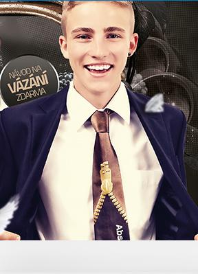 Obrázek Školní kravaty plnobarevné