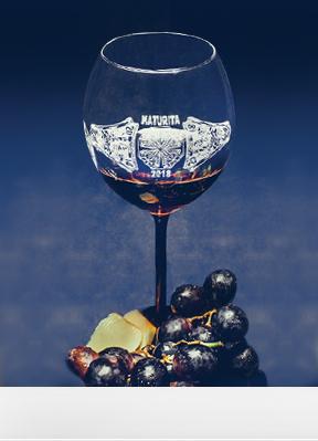 Obrázek Maturitní skleničky BLACK LA ROCHELLE