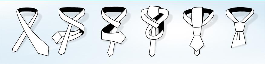 vázání kravaty videonávod